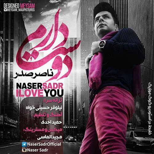 دانلود آهنگ جدید ناصر صدر به نام دوست دارم