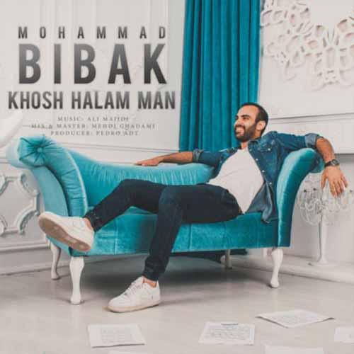 دانلود آهنگ جدید محمد بیباک به نام خوشحالم من
