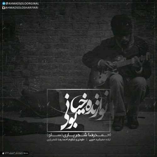 دانلود آهنگ جدید احمدرضا شهریاری به نام نوازنده خیابونی