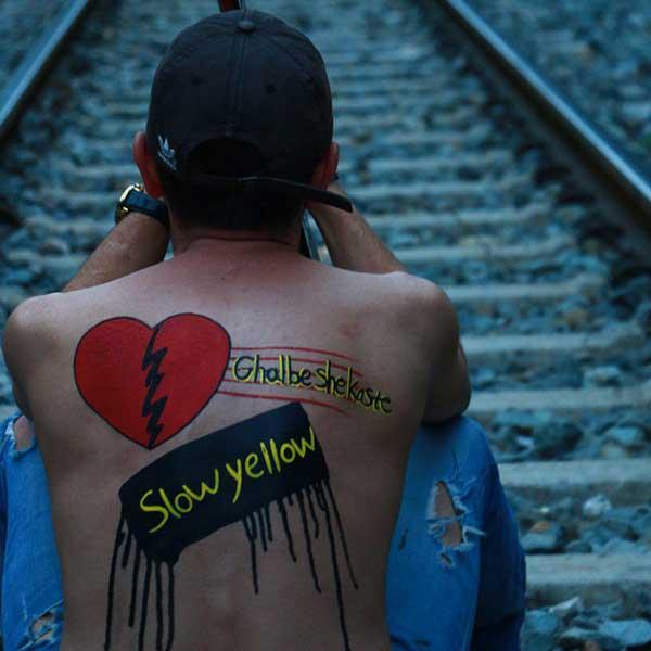 دانلود آهنگ جدید زرد یواش به نام قلب شکسته
