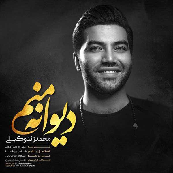 دانلود آهنگ جدید محمد زند وکیلی به نام دیوانه منم